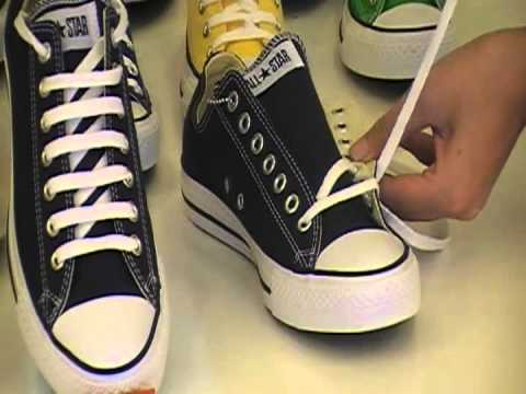 Hướng dẫn thắt dây giầy hình răng cưa - Converse 21 Chùa Láng