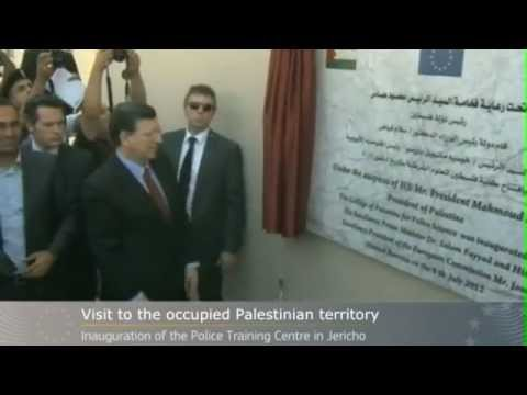 President José Manuel Barroso visits the occupied image