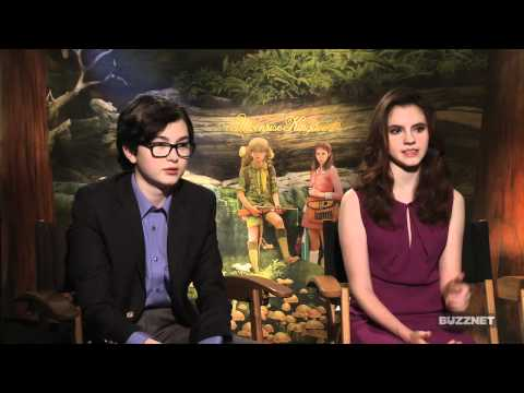 Buzznet Exclusive: Kara Hayward And Jared Gilman On Their First Movie (And Kiss!)