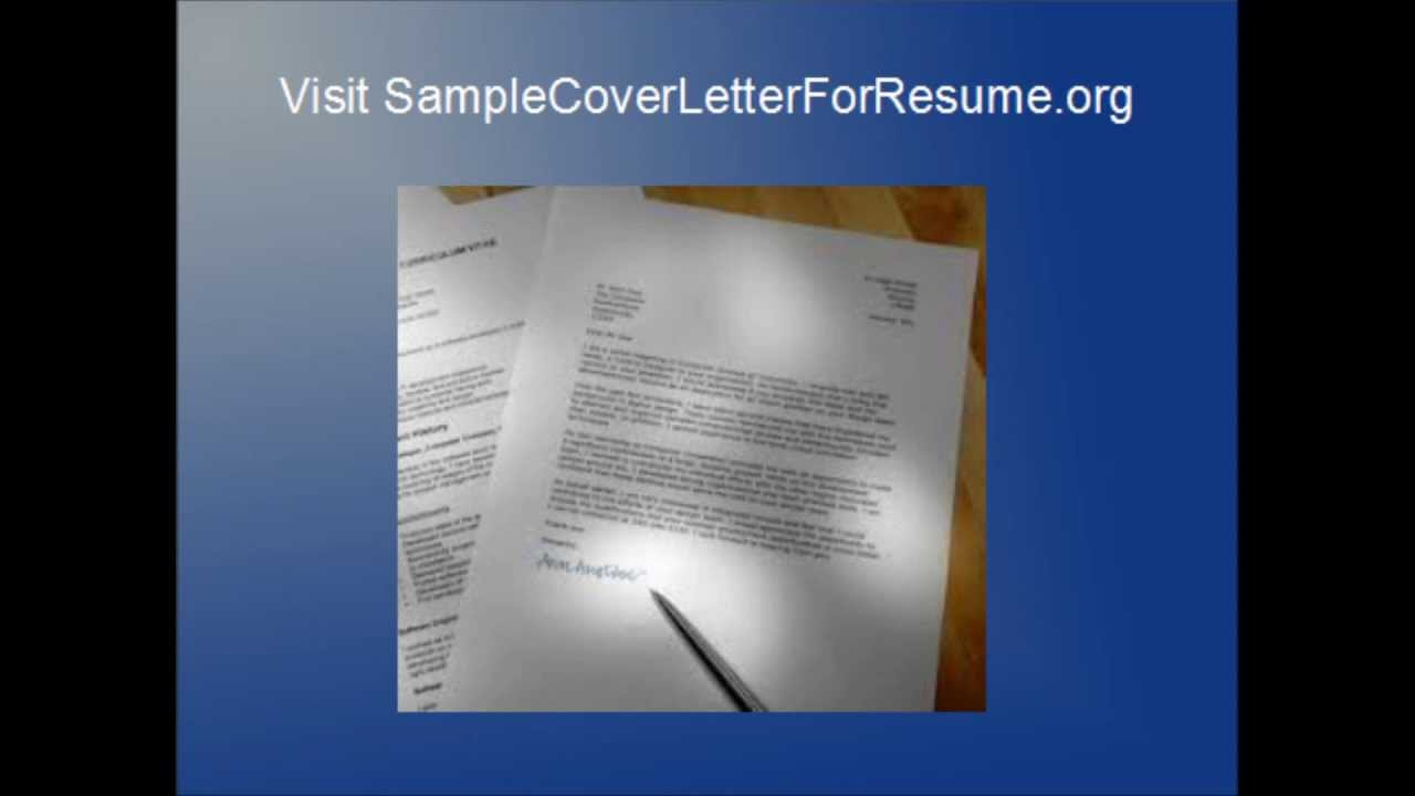 Amazing Cover Letters By Jimmy YouTube