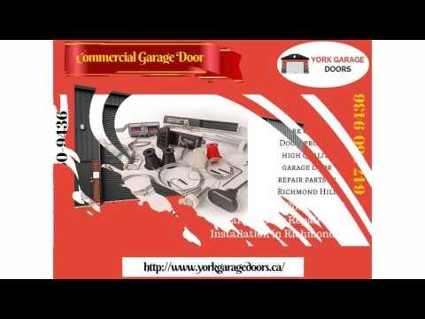 Garage Door Repair Richmond Hill, Installation, Maintenance & Replacement Service