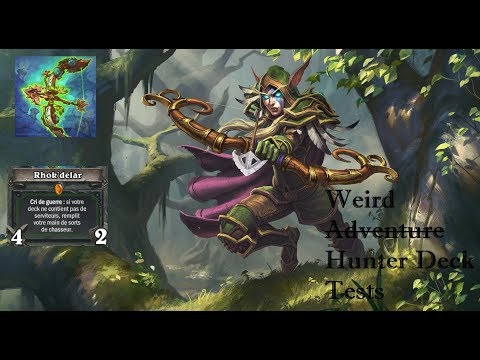 [French] Playing an adventure deck in ranked? | Rhok'delar Hunter | Hearthstone: the Witchwood