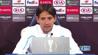 La conferenza stampa di mister Inzaghi alla vigilia di Lazio-Sevilla