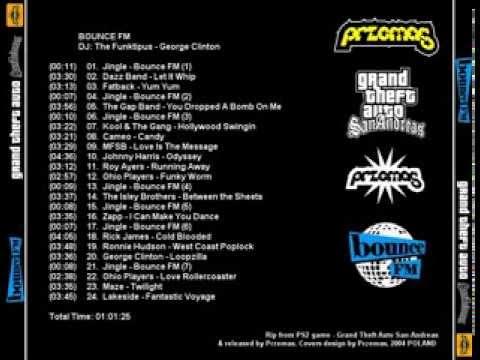 GTA:San Andreas (2004) - Bounce FM Full Soundtrack