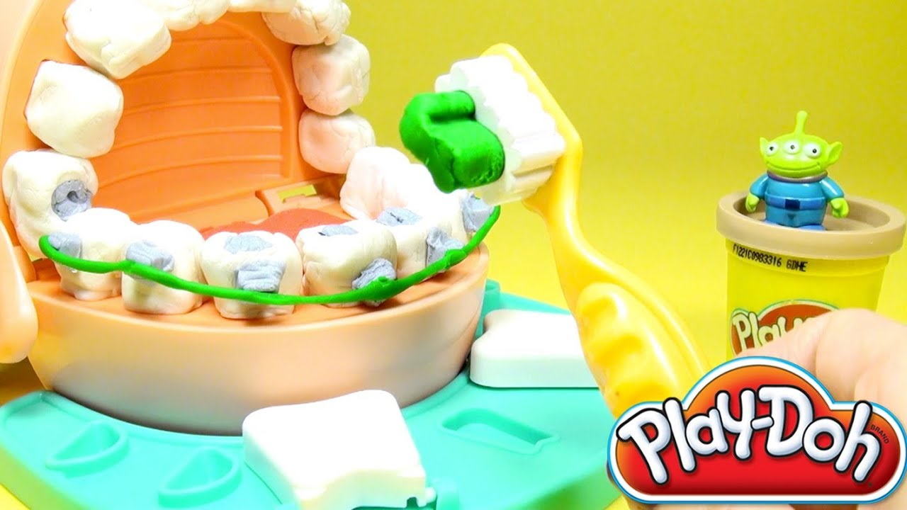 play doh doctor drill n fill dentist playset playdo by. Black Bedroom Furniture Sets. Home Design Ideas