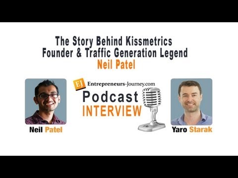 The Story Behind Kissmetrics Founder and Traffic Generation Legend Neil Patel Video