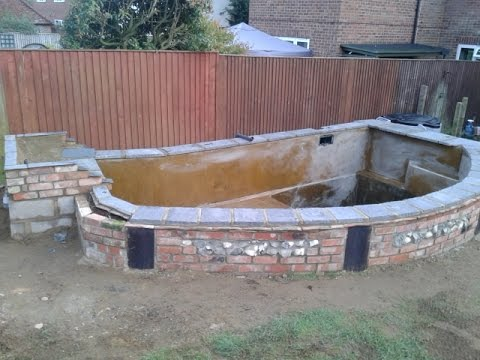 Building a Koi Pond Project 2014