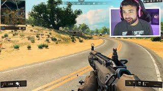 My First BLACKOUT Gameplay in Black Ops 4..