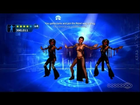 Princess Leia in a Bottle - Kinect Star Wars
