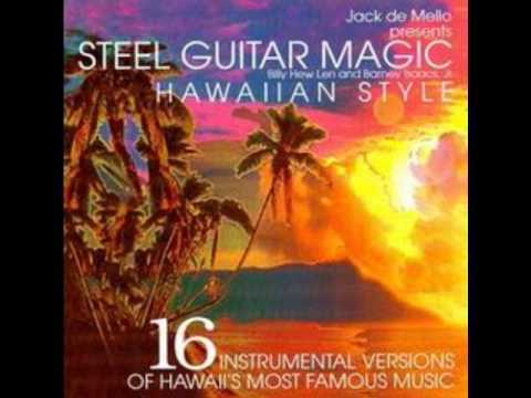 All Star Hawaiian Band &quot; Pearly Shells &quot; Steel Guitar Magic