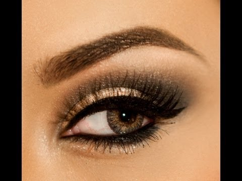 Glamour Holiday Smokey Eye Makeup - Vegas_nay