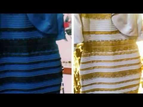 DE QUE COLOR ES ESTE VESTIDO? - MISTERIO - Blanco Dorado? - Azul y Negro? #TheDress