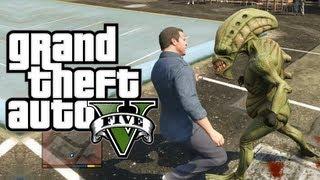 GTA 5 ALIEN EASTER EGG! (GTA 5 Aliens) (Grand Theft Auto 5