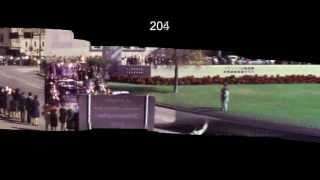 JFK Assassination Zapruder Stabilized Motion Panorama HD