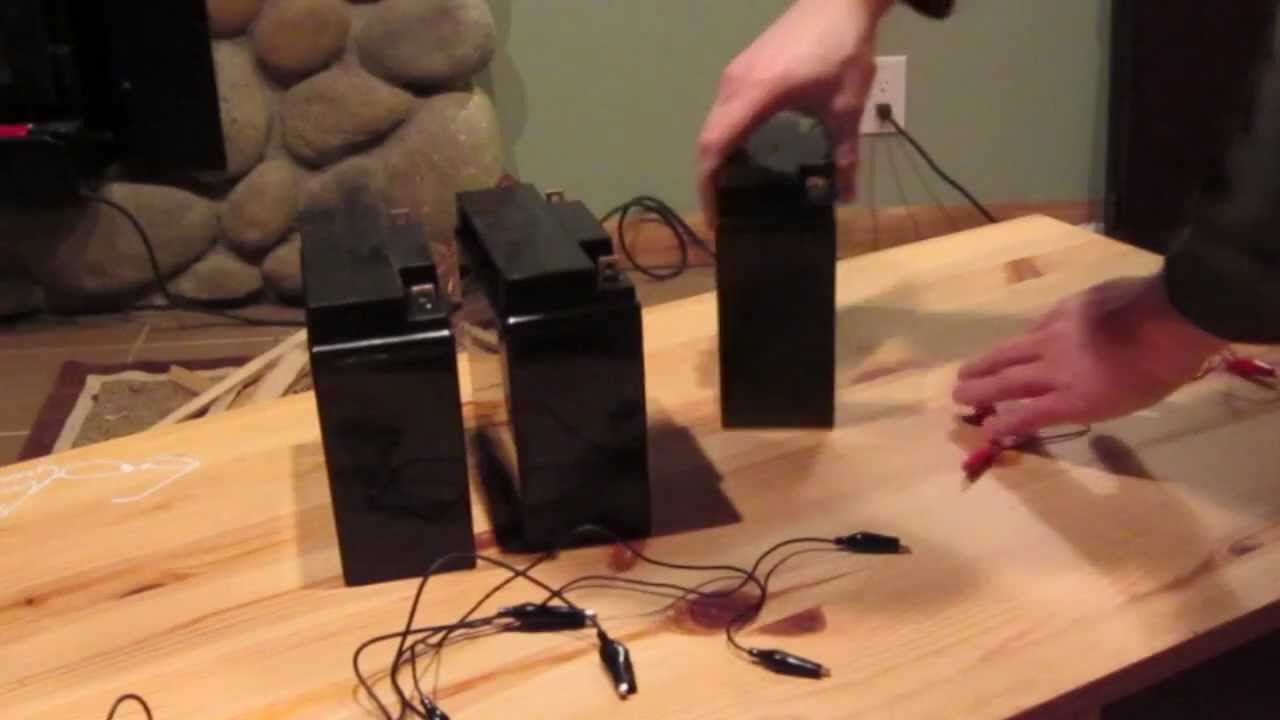Solar Batteries In Parallel Series Battery Wiring Pictures Of
