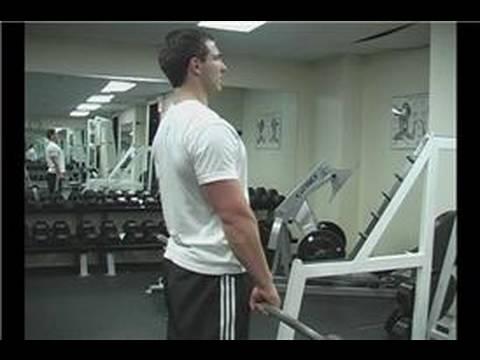 Leg Exercises : Stiff-Legged Dead Lifts