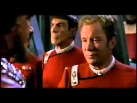 Star Trek VI: The Undiscovered Country - Kirk Bridge Trailer and iPhone 4 and iPhone 5 Case