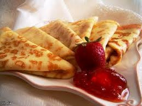 Блинчики на завтрак