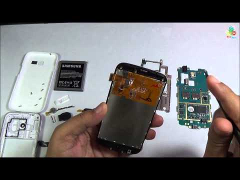 Parts View and Assembly of Samsung Galaxy Star Pro S7262 by BCD Tech