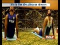 Yoga session organised for 'Team India' ahead of West Indi..