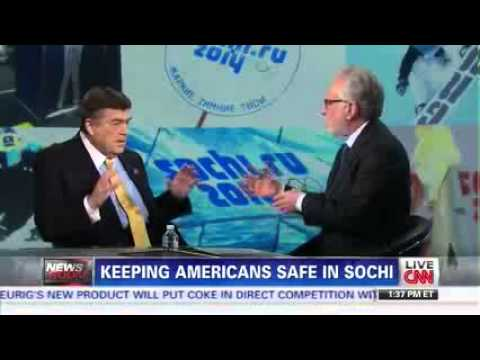 2.6.14 Dutch Interviews with CNN's Wolf Blitzer re: Security at the Olympics
