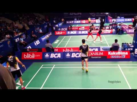 Lee Yong Dae [Korea] Tournaments Badminton at Indonesia Ope