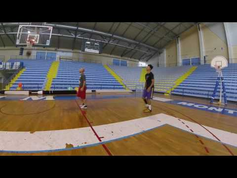 Improve Basketball Summer Pro Camp - Footwork and Fadeaway