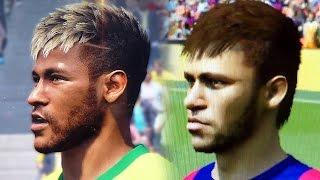 Gamescom: Fifa 15 Vs Pes 2015 Face Comparison Head To