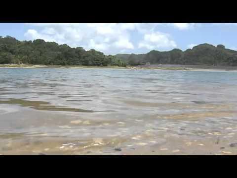 Monitorean Bajo de Niveles la Reserva de Agua del Lago Guajataka