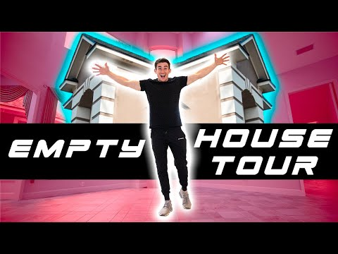 FULL Empty House Tour! 4,651 Square Feet
