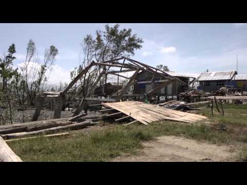 Four months after Typhoon Haiyan