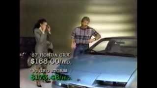 1990 Geo Storm Commercial
