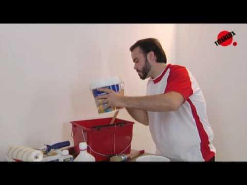 Como eliminar trinca de parede