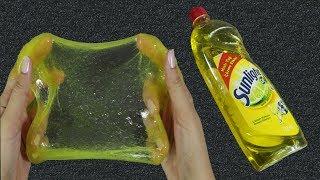 NO GLUE SLIME! 💦 Testing DISH SOAP Slime Recipes
