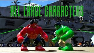 LEGO Marvel Superheroes A Look At All Of The LARGE