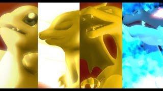 Pokemon X Digimon Charmander Evolution