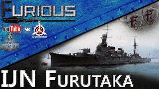 IJN  Furutaka. Лучший кактус игры
