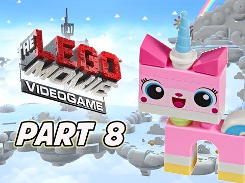 The LEGO Movie Videogame Walkthrough Part 8 - UNIKITTY (PS4 XBOX ONE Gameplay)
