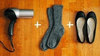 Como agrandar zapatos apretados