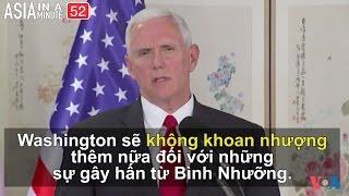 Liệu Phó TT Mỹ có làm Bắc Triều Tiên chùn bước? (VOA60 châu Á)