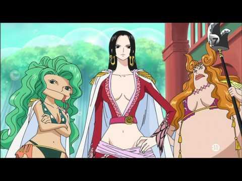 One Piece - Boa Hancock gives Luffy