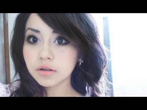 Maquillaje tierno y ojos grandes ♥