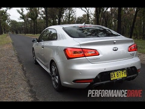 2014 Kia Cerato Koup Turbo 0-100km/h and engine sound