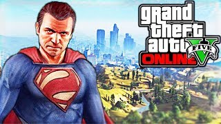 CHEAT CODE Comment Etre SuperMan Sur GTA5 !