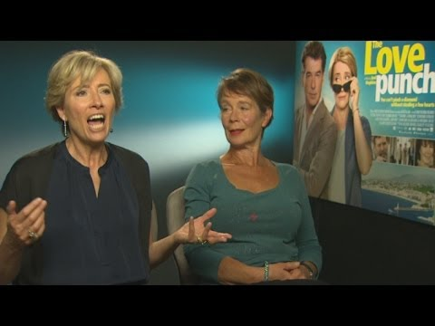 Emma Thompson interview: Why I picked Pierce Brosnan for The Love Punch