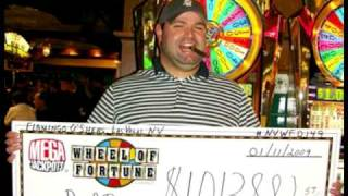 Wheel Of Fortune Slot Machine Progressive Winners!