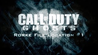 """Call Of Duty Ghosts """"Ghosts Stories"""" Mission 1 Rorke File"""