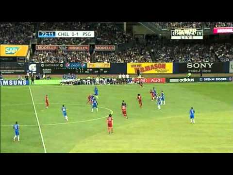 Preseason Friendly Match - Chelsea vs Paris Saint Germain - SECOND HALF 22/07/2012