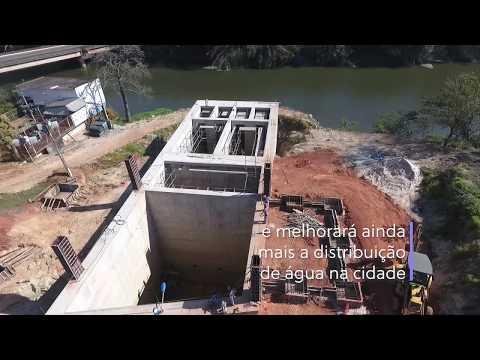 Video  - DAE e a Prefeitura de Americana investem na captação e distribuição de água para a cidade