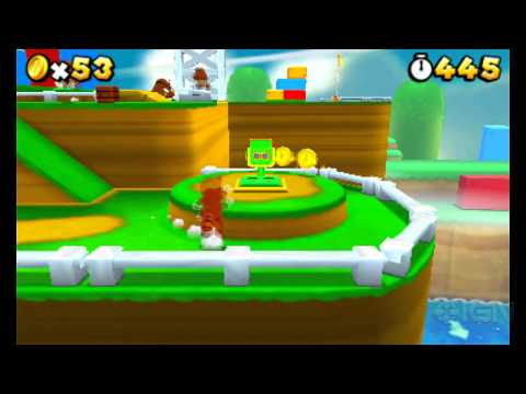 Super Mario 3D Land: World 1-1